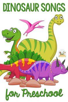 10 BEST Dinosaur Songs For Toddlers And Preschool Kids!
