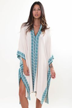 Goddis Bandit Caftan in Desert Session Boho Knit Luxe Fashion