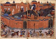 Prise de Bagdad par les Mongols en 1258. L'irruption au Moyen-Orient de ces guerriers venus de l'est, conquérants de la Chine et de l'Asie centrale qui mettent à bas le califat abbasside et menacent aussi bien les Arabes que les États latins d'Orient, provoque une guerre violente qui mènera à la redéfinition de tout l'espace moyen-oriental.