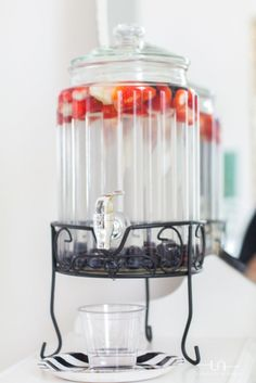 Fruit infused water-