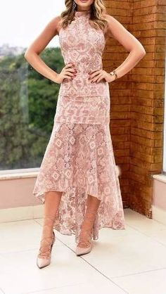 Wedding Dresses, Party Dresses, Ideias Fashion, High Low, Gowns, How To Wear, India, Sunset, Short Casual Dresses
