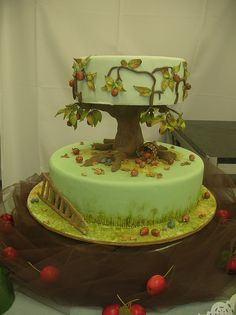 Apple Tree, Wedding Cake by OkadaKeisuke, via Flickr