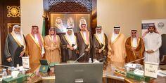 الفيصل يستعرض الإنجازات والخطط المستقبلية لوقف الملك عبدالعزيز