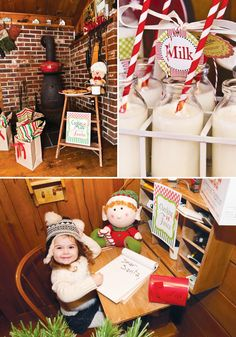 Santas Workshop {Kids Christmas Baking Party}
