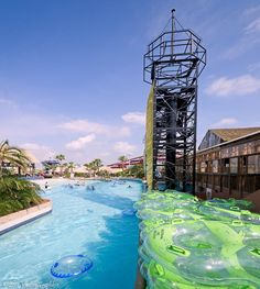 Voted the World's Best Indoor Waterpark, Schlitterbahn Galveston Island Waterpark is a 26-acre oasis featuring the world's first indoor / outdoor 70,000 square-foot heated-convertible waterpark area.