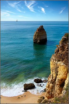 Praia da Gale Algarve #Portugal