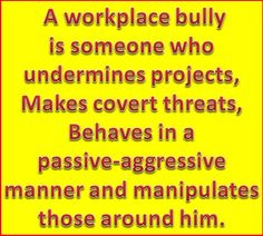 Bullying takes place across all demographics and in a variety of social and professional settings. Retaining a repeat bullying offender can create a toxic and unproductive work environment. It can also drive away good employees and can result in potential lawsuits if harassed employees feel their rights are not protected by a company's management. http://workplace-bully.com