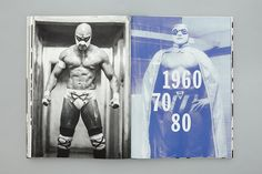 Print for Lucha: A Tribute designed by Blok.