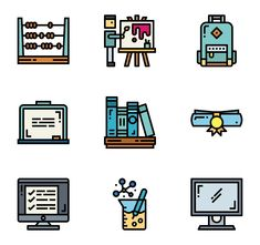 36 Teacher icons for personal and commercial use. Smalllikeart Lineal Color icons. Download at flaticon.com now! #Flaticon #icons #education #teacher
