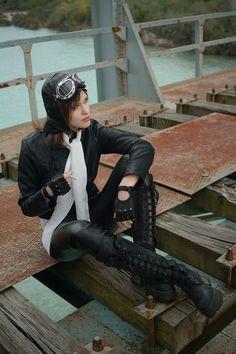 An idea of what Mia Alexia Billingham, my main character and aviator, looks like.