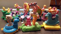 1994 McDonalds Happy Birthday Train  set 13 Toy FIGURES #McDonalds