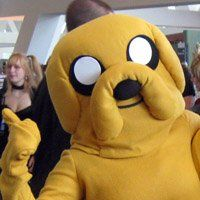 Jake the Dog - Adventure Time cosplay by UltimateInsult Adventure Time Cosplay, Adventure Time Parties, Best Cosplay Ever, Jake The Dogs, Caillou, Costumes, Costume Ideas, Playing Dress Up, Aspen