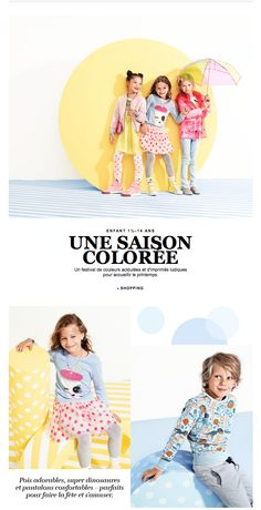 prises de vue - couleurs Toddler Girl Outfits, Kids Outfits, Kids Web, Kids Background, Fashion Banner, Class Pictures, E-mail Marketing, Kids Poster, Magazines For Kids