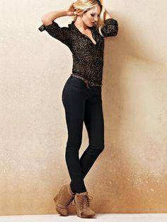 VS Siren Legging Pant in Stretch Twill - Victoria's Secret