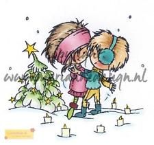 Marianne Design Stempel Don & Daisy A Christmas romance DDS3354, clear stamp