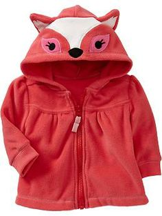 Critter Zip-Hoodies for Baby | Old Navy