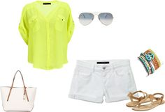 summer, created by aimeemac on Polyvore