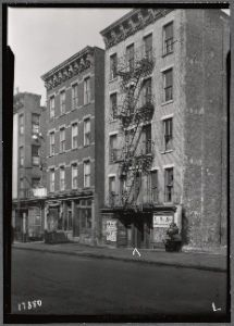 #TeachNYPL #NYC #History Our Study Guide to East Harlem: http://www.nypl.org/sites/default/files/EastHarlemGuide.pdf [Photo from NYPL Digital Collections: East Harlem tenement row with campaign signs for Lanzetta & Marcantonio: Manhattan (1937)]