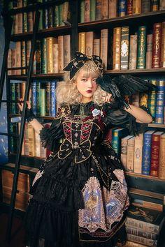 Yolanda -Captain Catalina- Lolita Jumper Dress