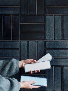 Raku brick tiles are
