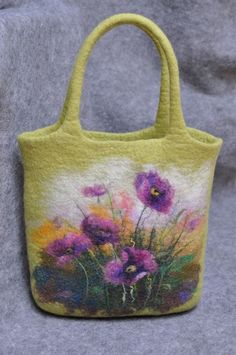 felted bag by pamela.coss.5