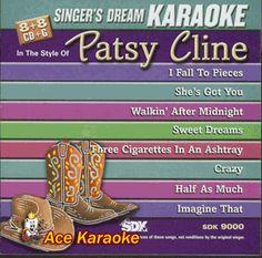 Patsy Cline - A Poor Mans Roses - Karaoke | Patsy Cline/Karaoke