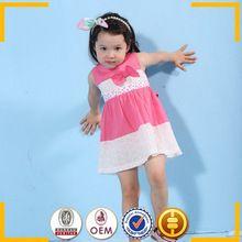 Factoy atacado bebê meninas saia de verão Dongguan feijão ouro roupa infantil de fábrica