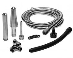 All In One 4 Tip Shower Enema System