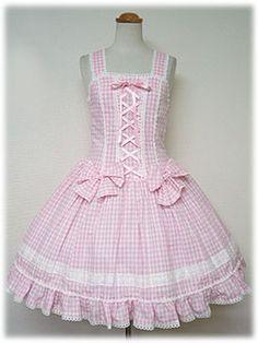 Angelic Pretty / Jumper Skirt / Bustier Style JSK