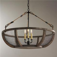 Rustic wooden cage chandelier lg limitless design pinterest rustic wooden cage chandelier lg limitless design pinterest chicken wire chandeliers and industrial aloadofball Gallery