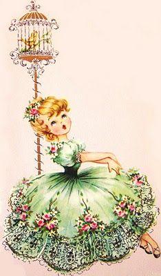 antique card art