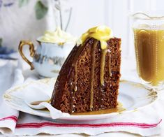 Sticky date and fig steamed pudding, dates recipe, brought to you by Australian Women's Weekly Desserts To Make, Summer Desserts, Delicious Desserts, Steamed Pudding Recipe, Pudding Recipes, Slow Cooker Recipes Dessert, Dessert Recipes, Cake Recipes, Best Christmas Pudding Recipe