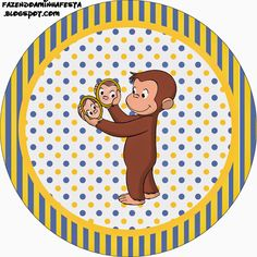 Oh My Fiesta! in english: Inspired in Minions: Free Printable Labels. Curious George Party, Curious George Birthday, Minion Party Games, Minion Theme, Minion Birthday, Printable Labels, Party Printables, Free Printables, Twin First Birthday
