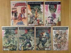 New Avengers AIM Vol 3 Civil War II Complete Enhanced (7 Comics)