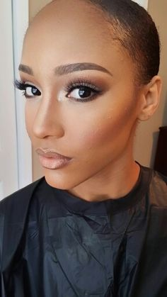 Makeup by Nalani Bott (beautybott), a Makeup Artist based out of Atlanta, GA. Bookings: info@beautybott.com.  #atlmua #atlmakeupartist #atlantamua #atlantamakeupartist #makeupartist #mua #makeup #airbrushmakeup