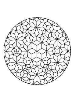 Kleurplaat Mandala (7206) | kleurplaten