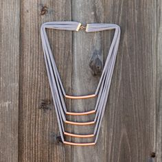 Tiered Copper Necklace | 15 Ways to Turn T-Shirts into Jewelry