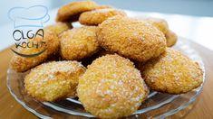 Ciasteczka kokosowe zawierające tylko 3 składniki - super łatwe   Olga K... Coconut Cookies, Healthy Cookies, Biscotti, Desserts With Biscuits, Biscuit Cookies, Scones, Super Easy, Waffles, Yummy Food