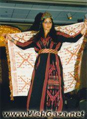 Asduud Dress - A Dress from Asduud, District of Gaza (Ghazzah).
