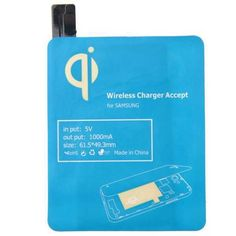 L, Qi Wireless Charger Accept Receiver For Samsung Galaxy S4 I9500
