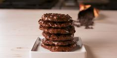Best Flourless Fudge Cookie Recipe - How To Make Flourless Fudge Cookies