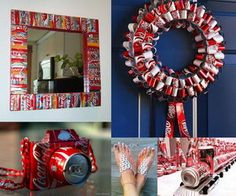 Soda cans are some of the best recyclables to transform into craft supplies, as they are durable, attractive, and easy to work with using household tools.