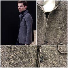 Fall Winter 2014 menswear must have: #AlphaStudio jacket tricot dall'aspetto tweed   #fw2014 #jacket #tricot #musthave #knitwear #knit #knitting #knitted #menswear #menstyle #men #mensfashion #fashion #florence #stitch #gauge #yarn #details #botton #tweed #wool #woolblend #instagood #instafashion #outfit #picoftheday #style #stylish #fallwinter #newcollection #moda