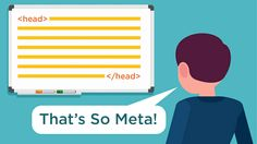 Meta information (aka metadata) is an important part of a web page that contains elements that can directly influence rankings and click-through rates (CTR) from the search results. Metadata can influence both rankings and CTR on search pages. Click To Tweet Many website publishers aren't aware of these important pieces of code on their web …