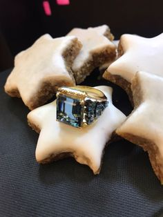 Flow Ring Aquamarine Flow, Rings For Men, Christmas Gifts, Desserts, Jewelry, Xmas Gifts, Tailgate Desserts, Men Rings, Christmas Presents