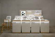 The Best 2019 Interior Design Trends - Interior Design Ideas Kiosk Design, Display Design, Booth Design, Retail Design, Store Design, Cosmetic Display, Cosmetic Shop, Cosmetic Design, Design Stand