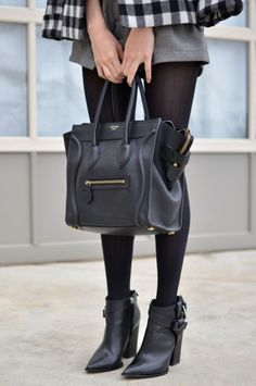 I want the black Celine bag as well!!