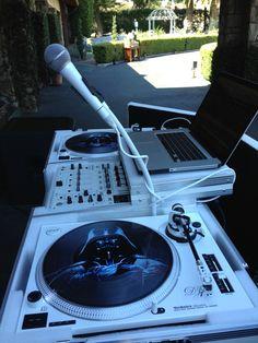 Technics 1200 Darth Vader custom vinyl ... DJAL805