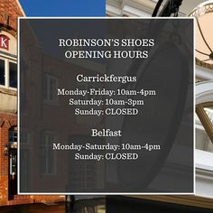 Visit Belfast, Us Store, Priorities, Appointments, Books Online, Encouragement, Number, People, Shoes