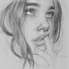 Register to be featured and show off your skills with our Step-by-Step Tutorials sketches aesthetic Dark Art Drawings, Pencil Art Drawings, Art Drawings Sketches, Drawings Of Faces, Horse Drawings, Animal Drawings, Portrait Sketches, Pencil Portrait, Portrait Art